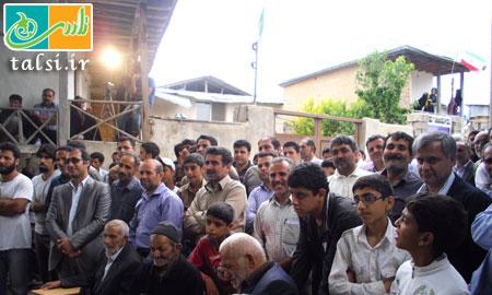 حضور گرم اهالی منطقه ی دوسرشمار در همایش در سایه یار چنار کهنسال قلعه